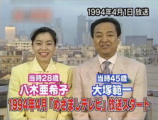 「めざましテレビ」20年を語りませんか?