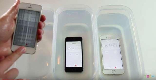 iPhone SEは水に強い? 60分水没勝負レディー・ゴー!  : ギズモード・ジャパン