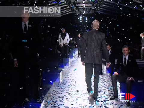 """Dolce & Gabbana"" Fashion Show Pret a Porter Men Autumn Winter 2005 2006 Milan 4 of 4 - YouTube"