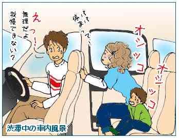 渋滞中の恐怖…トイレを我慢しすぎるとどうなる?専門医が解説!
