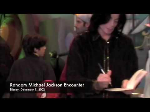 Michael Jackson at Disney 2002 - YouTube