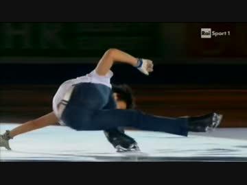 [イタリア実況Rai Sport] 羽生結弦 2011 GPF EX Somebody To Love ‐ ニコニコ動画:GINZA