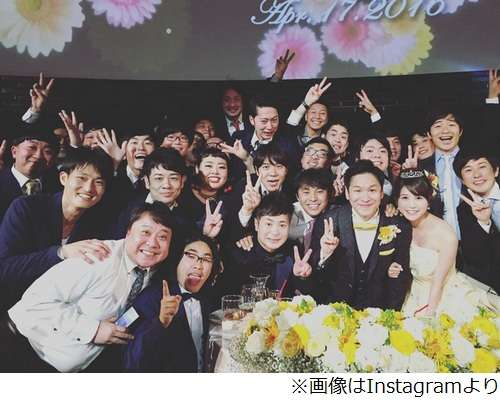 がん告白のはんにゃ川島が挙式、「奥さんめっちゃ可愛い」の声も。 | Narinari.com