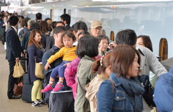 【熊本地震】「被災地へ早く」「家族を実家へ」…運転再開の九州新幹線 幻の開業CMにも反響「こんなに涙が出るのは初めて」(1/3ページ) - 産経WEST