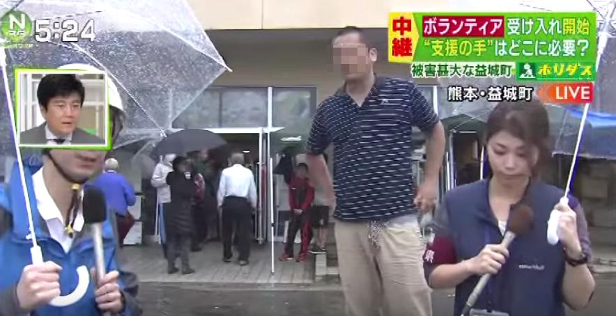 【熊本地震】生放送中に「見せ物でない」と怒号、TBSが中継を断念→姪がTwitterで知られざる事情を説明