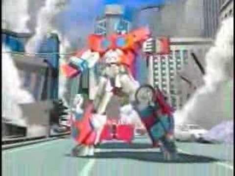 Transformers: Car Robots (Robots in Disguise) Japanese Intro - YouTube