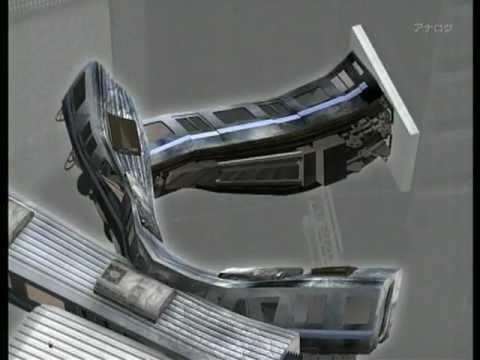福知山線(宝塚線)の事故再現CGと現在の事故現場 - YouTube