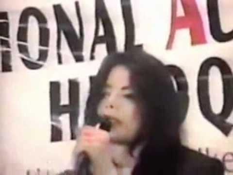 マイケル・ジャクソン:人種差別に対するスピーチ【日本語字幕付】 - YouTube