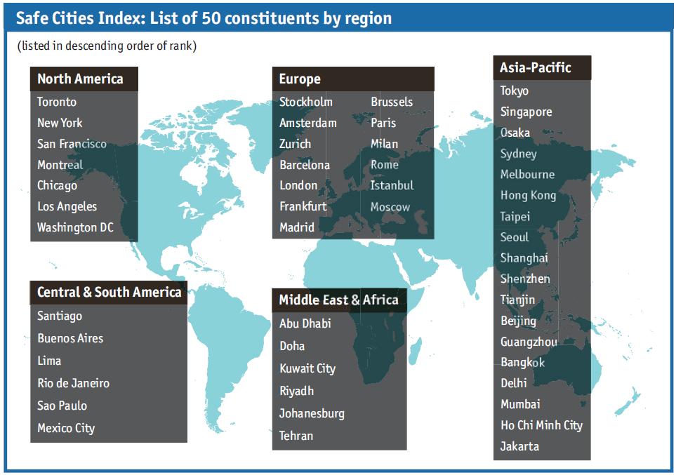 最新!日本が1位、世界の治安の良い国&都市ランキング2015年版