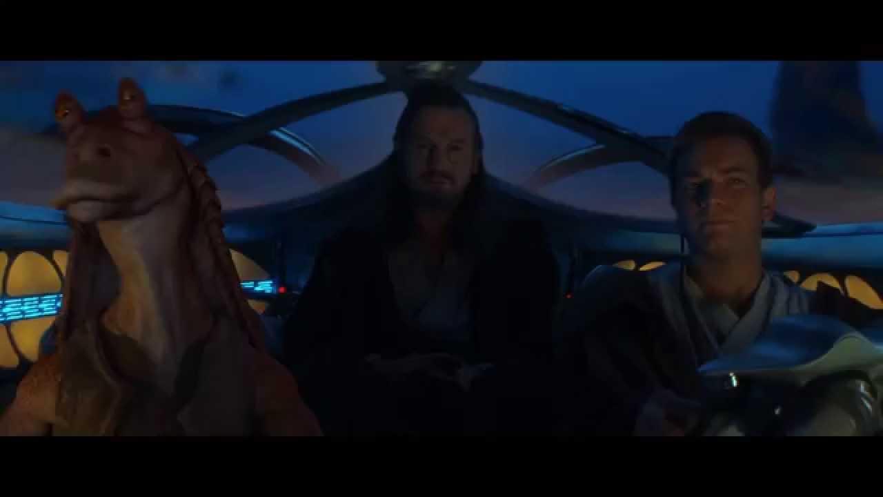 """Always a Bigger Fish"" - The Phantom Menace [1080p HD] - YouTube"