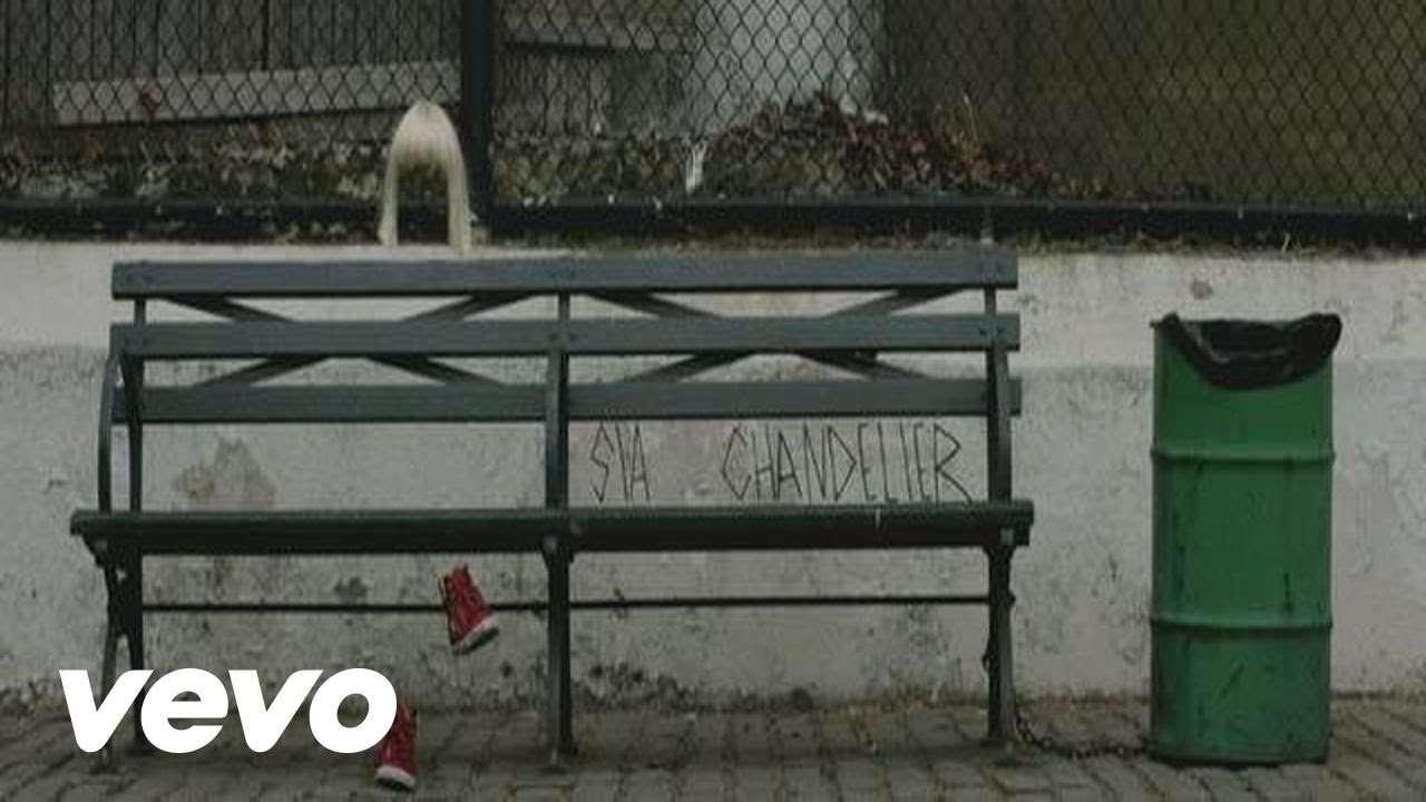 Sia - Chandelier (LYRIC VIDEO) - YouTube
