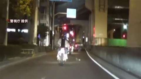 「都内の路上で危険行為の疑い、暴走族メンバーの少年9人逮捕」 News i - TBSの動画ニュースサイト