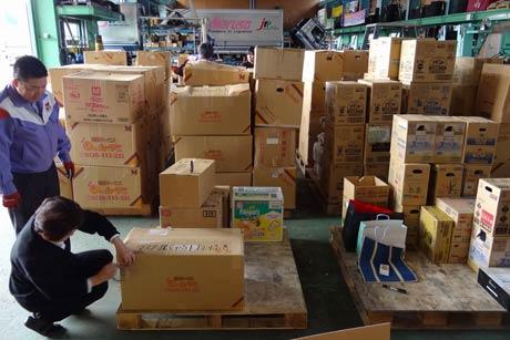 マルソーがボランティア運送する緊急支援物資の持ち込みを呼びかけ
