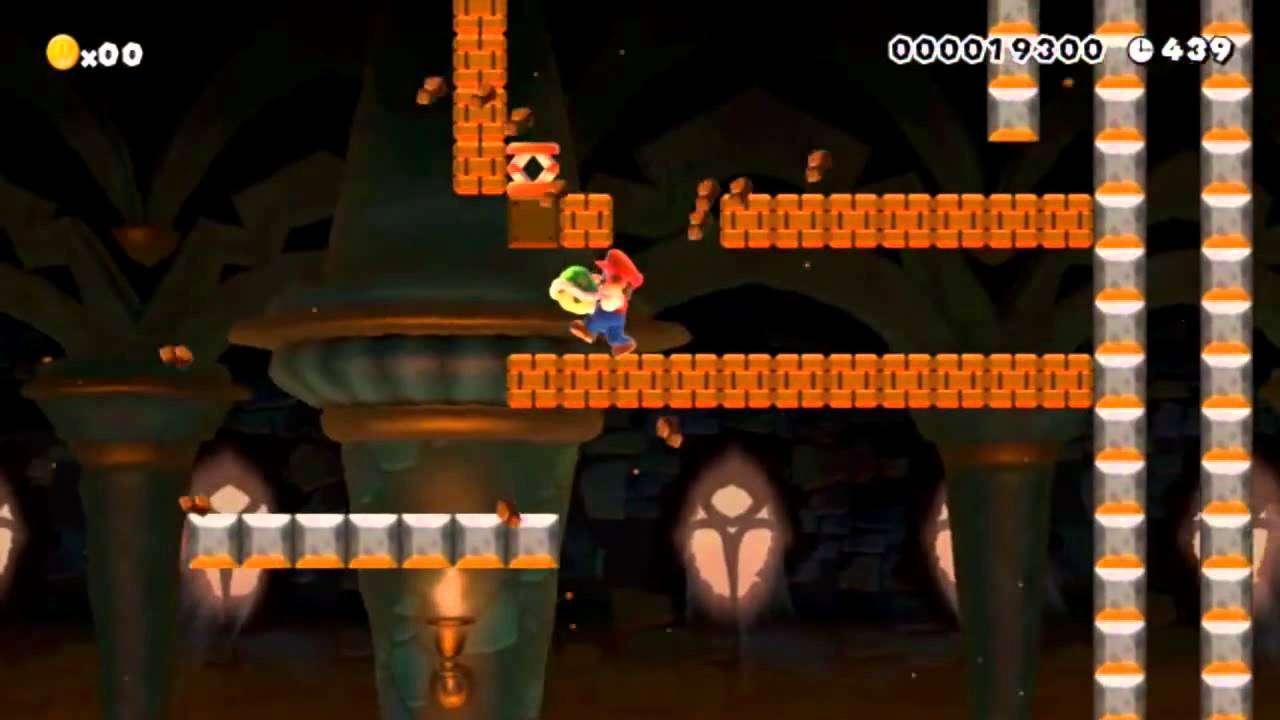 【スーパーマリオメーカー】クリア率0%の鬼畜ステージを古舘伊知郎に実況させる セカンドステージ【Super Mario Maker】 - YouTube