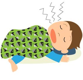 寝る時あるある