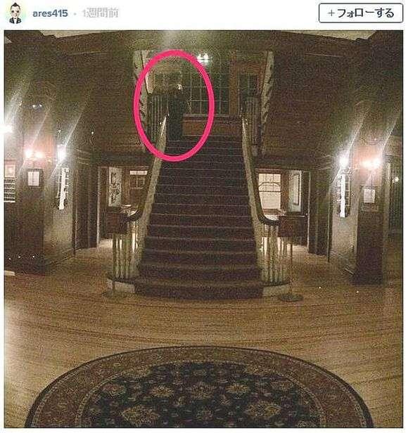 傑作ホラー映画『シャイニング』の撮影で使われたホテルに宿泊した客が心霊写真を撮影! ハッキリ写りすぎた幽霊がマジで恐怖な件   ロケットニュース24