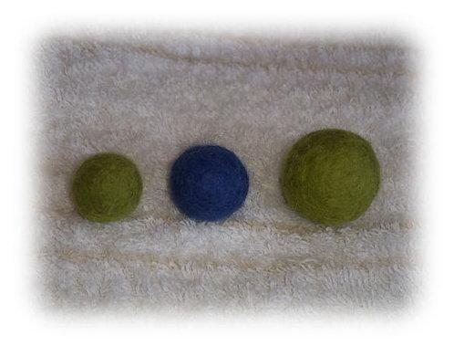 石鹸水を使ったフェルトボールの作り方 | nanapi [ナナピ]