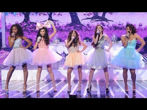 """Fifth Harmony """"Anything Could Happen"""" - Live Week 7: Semifinal - The X Factor USA 2012 - YouTube"""