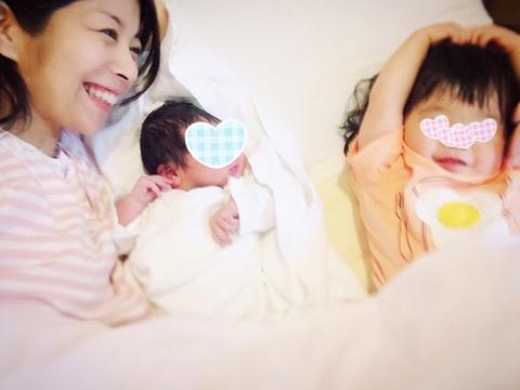 マナカナ・三倉佳奈が第2子を出産…姉・茉奈も立ち合う
