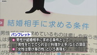 """""""女性は受け身""""鳥取県の婚活パンフレット回収へ"""