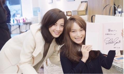 蛯原友里&高垣麗子「AneCan」専属モデル卒業