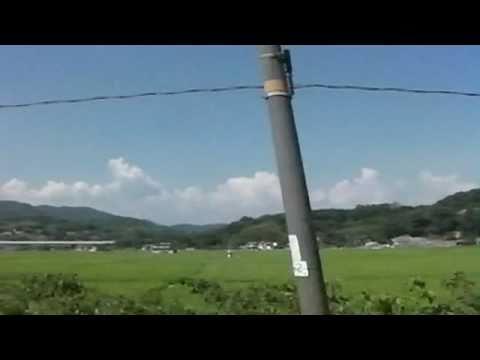 山陽本線 車窓の電線 / Cheerful wire - YouTube