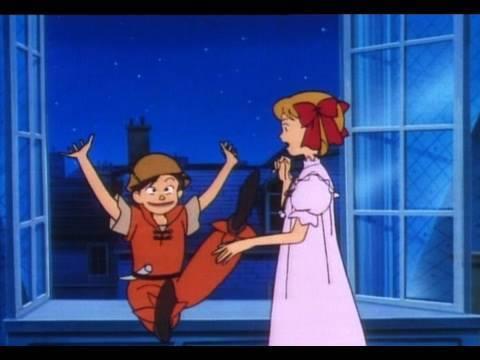ピーターパンの冒険 第1話「早く来て!みんなの憧れピーターパン」