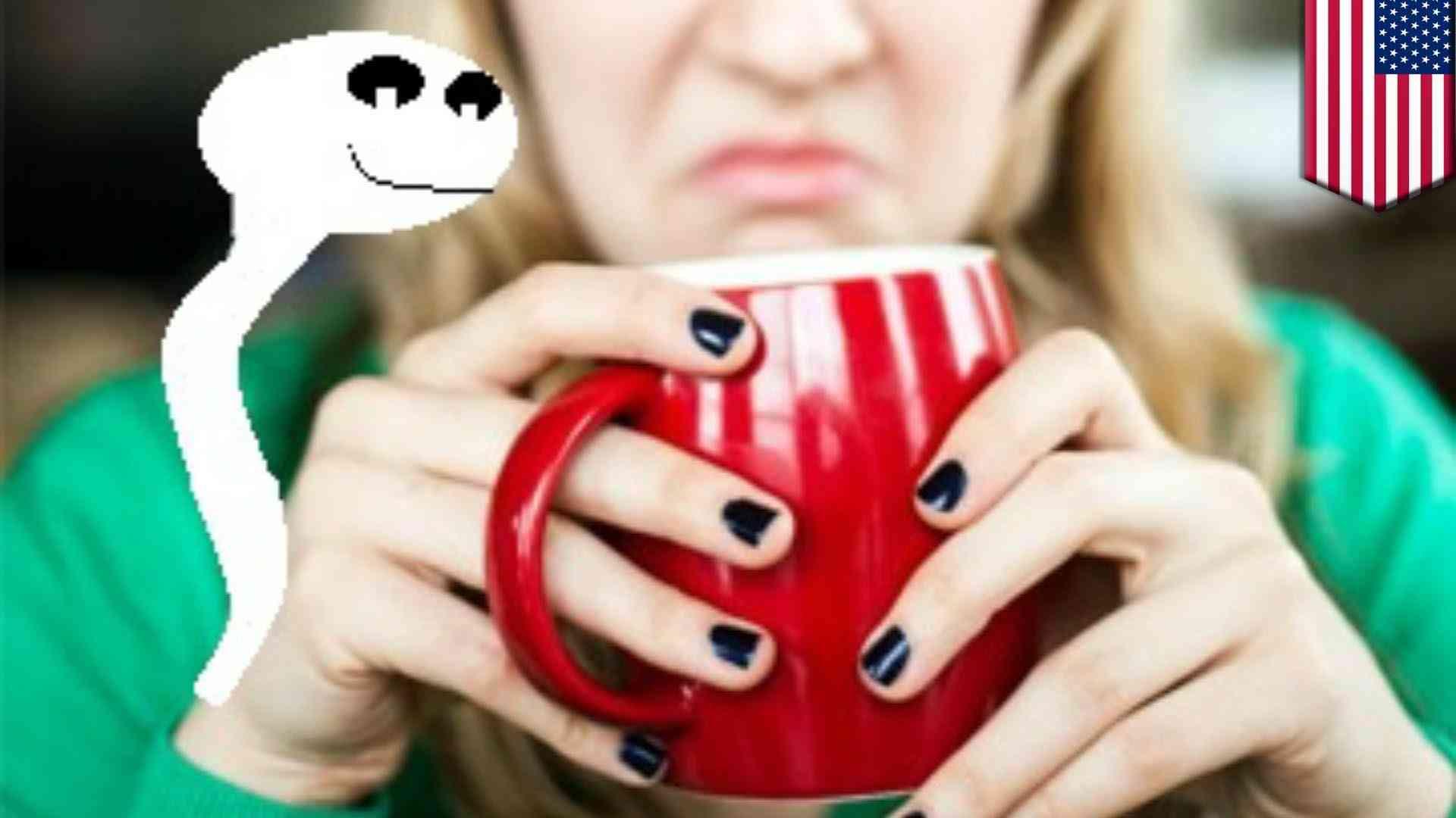 女性のコーヒーに精液入れた男 - YouTube
