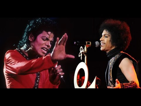 Prince Live - Prince plays guitar with Michael Jackson and dancing with James Brown - YouTube