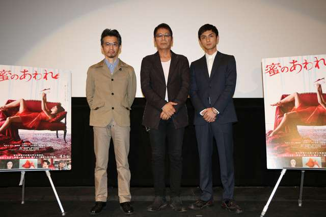 高良健吾「蜜のあわれ」舞台挨拶で「熊本のことを考えてもらえるとうれしい」 - 映画ナタリー