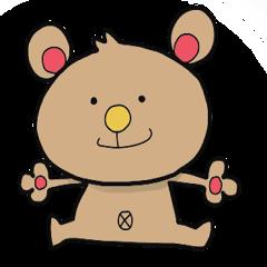 bear's kuutan - LINE Creators' Stickers