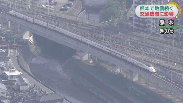 九州新幹線 一部区間で運転再開 | NHKニュース