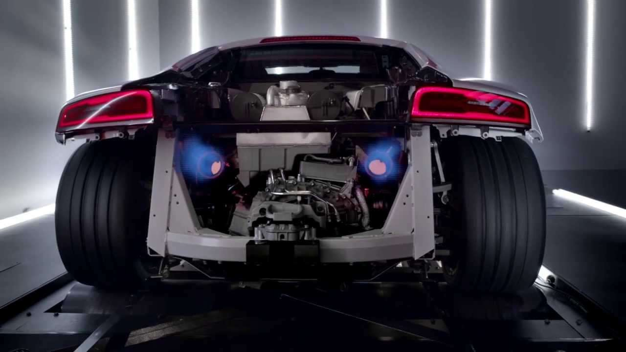The new Audi R8 V10: TV CM (アウディ R8) - YouTube