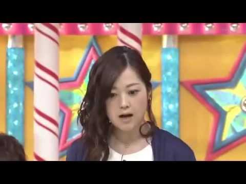 水卜麻美(みうらあさみ) プロの対応 (緊急地震速報20140916) - YouTube