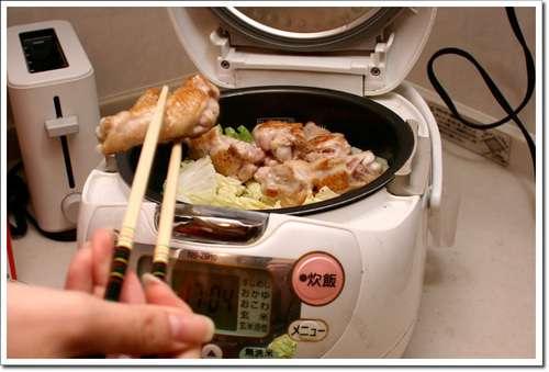 炊飯器で料理したことありますか?