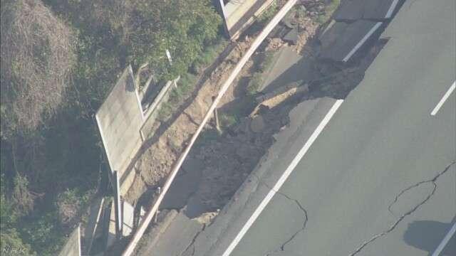 九州の高速道路 一部で通行止め解除 | NHKニュース