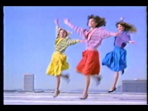 レナウンCM 80年代② - YouTube