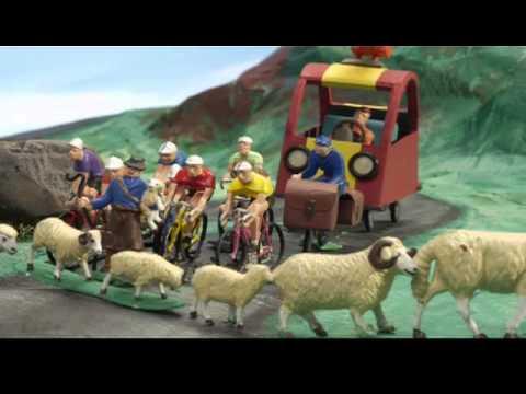Panic in the Village パニック・イン・ザ・ヴィレッジ Vol 1 03 「自転車レースの巻」 - YouTube