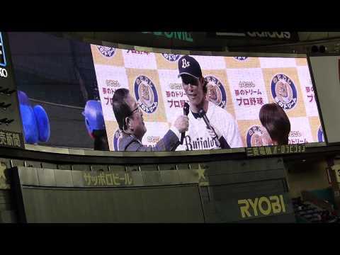やりたい放題のつば九郎とドアラ のどごし夢のドリームプロ野球 - YouTube