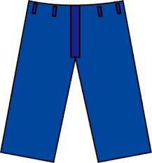 ズボンはどのタイプを履いていますか?