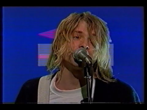 Nirvana - Smells Like Teen Spirit (First TV Performance) - YouTube