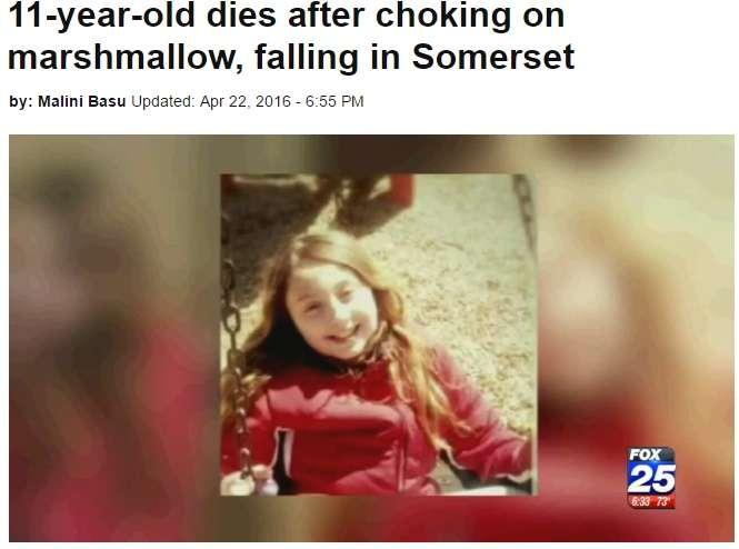 【海外発!Breaking News】マシュマロで窒息死 11歳女児、友人の誕生パーティで(米) | Techinsight|海外セレブ、国内エンタメのオンリーワンをお届けするニュースサイト