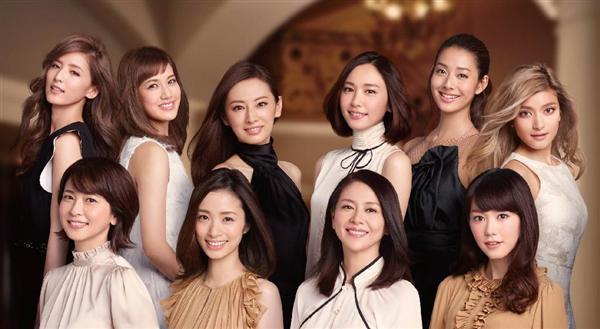 圧巻!10人の豪華美女、創業70周年「コーセー」新CMで競艶