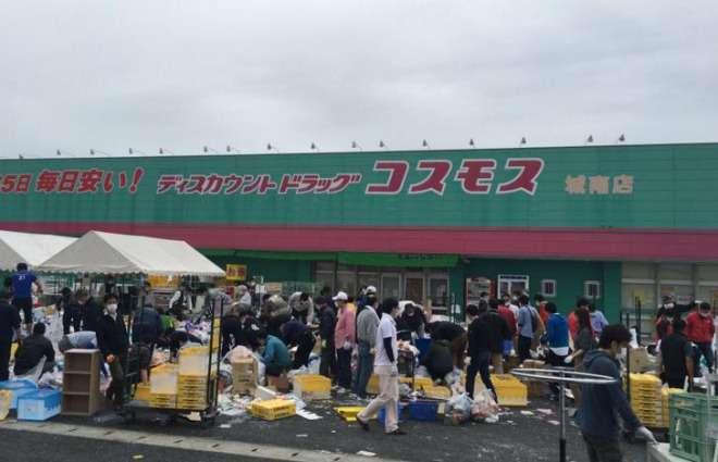 熊本の被災地で集団窃盗騒ぎ!コスモスが店頭に商品を置く⇒取り放題とデマ情報⇒人々が殺到⇒警察が出動へ|真実を探すブログ