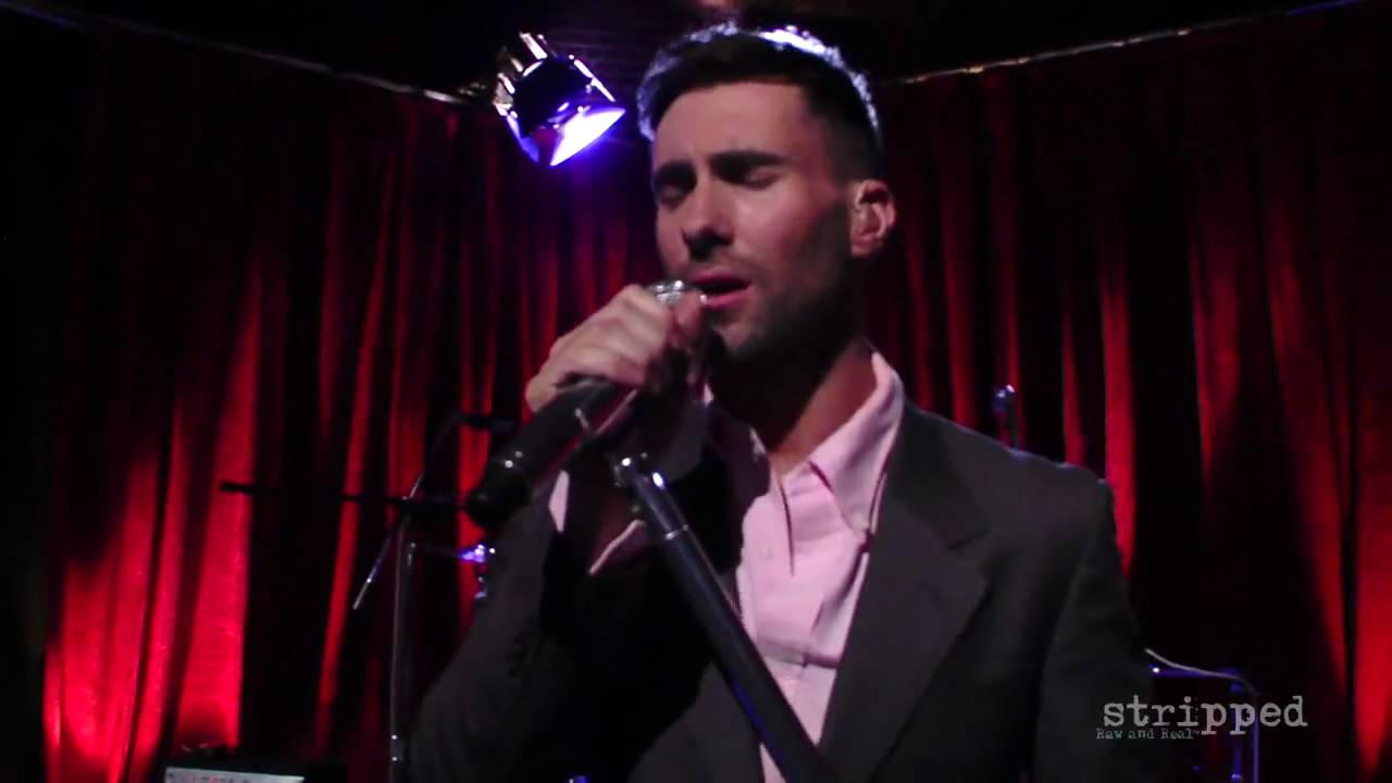 Won't Go Home Without You (Stripped) by Maroon 5 | Interscope - YouTube