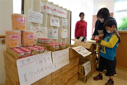【熊本地震】アレルギーの子 配給が食べられない…「対応食が必要な人はさらに増える」