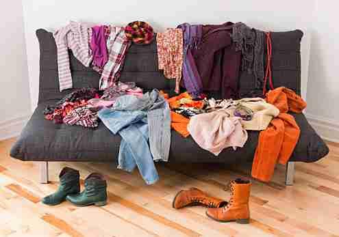洋服の収納方法は?
