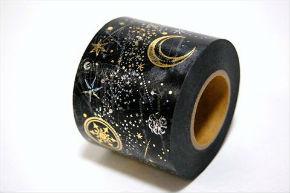きらめく星空を描いたロマンチックなマスキングテープ「夜間飛行」発売 お値段なんと5000円!