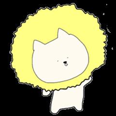 Kitty Like a Lion - LINE Creators' Stickers