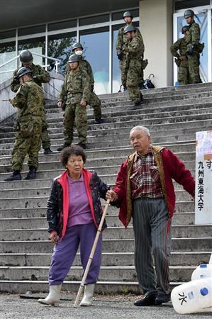熊本地震 高齢者ら宿泊施設受け入れ (産経新聞) - Yahoo!ニュース